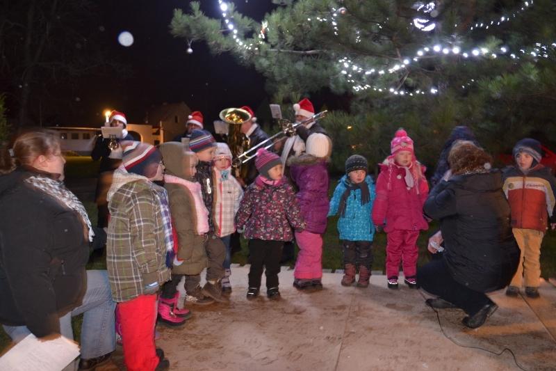 Libochovicko – Rosvícení vánočních stromků