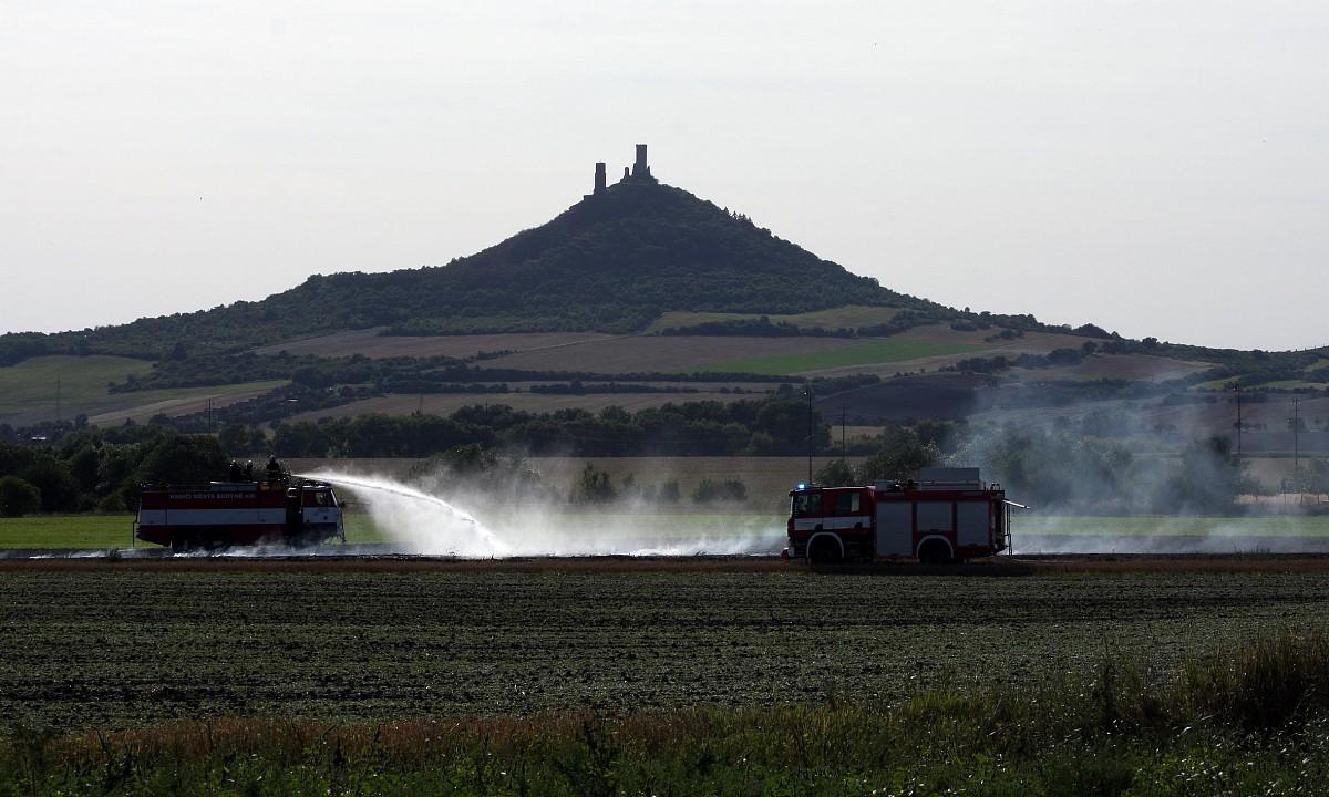 Chotěšov – Fotogalerie z likvidace požáru