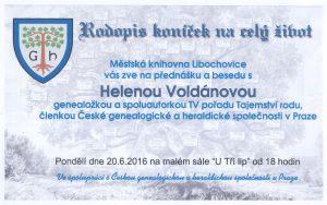 pozvánka beseda Libochovice 2016